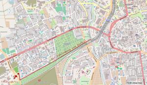 Karte-Friedensgarten